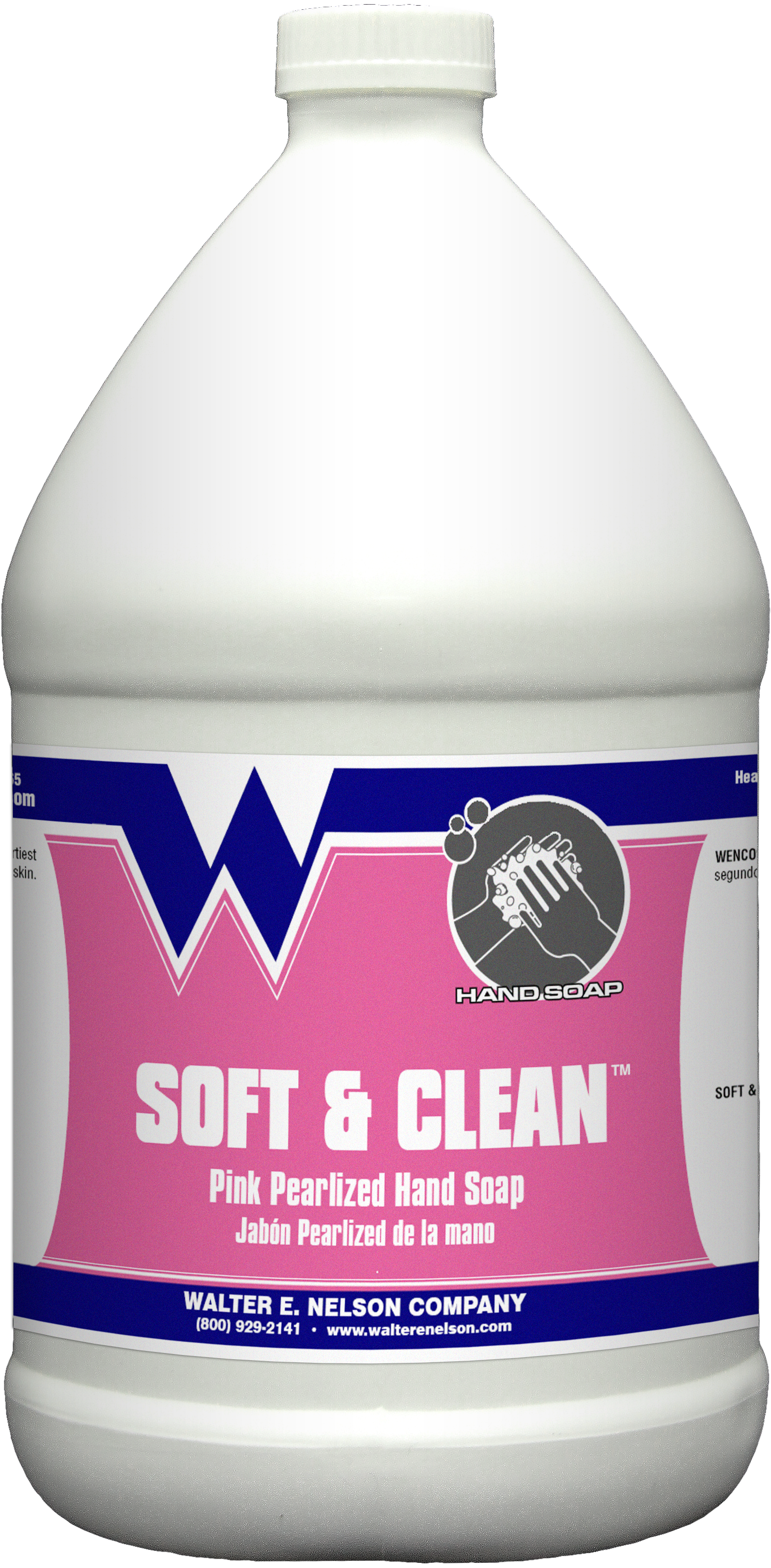 Wenco Soft & Clean™ Pink Pearlized Hand Soap - Gal  | Wenco